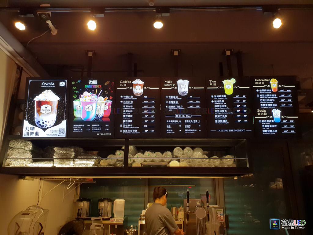 LED燈箱,台灣新創品牌-丸咖ONECA,LED燈箱尺寸齊全,客製尺寸應有盡有