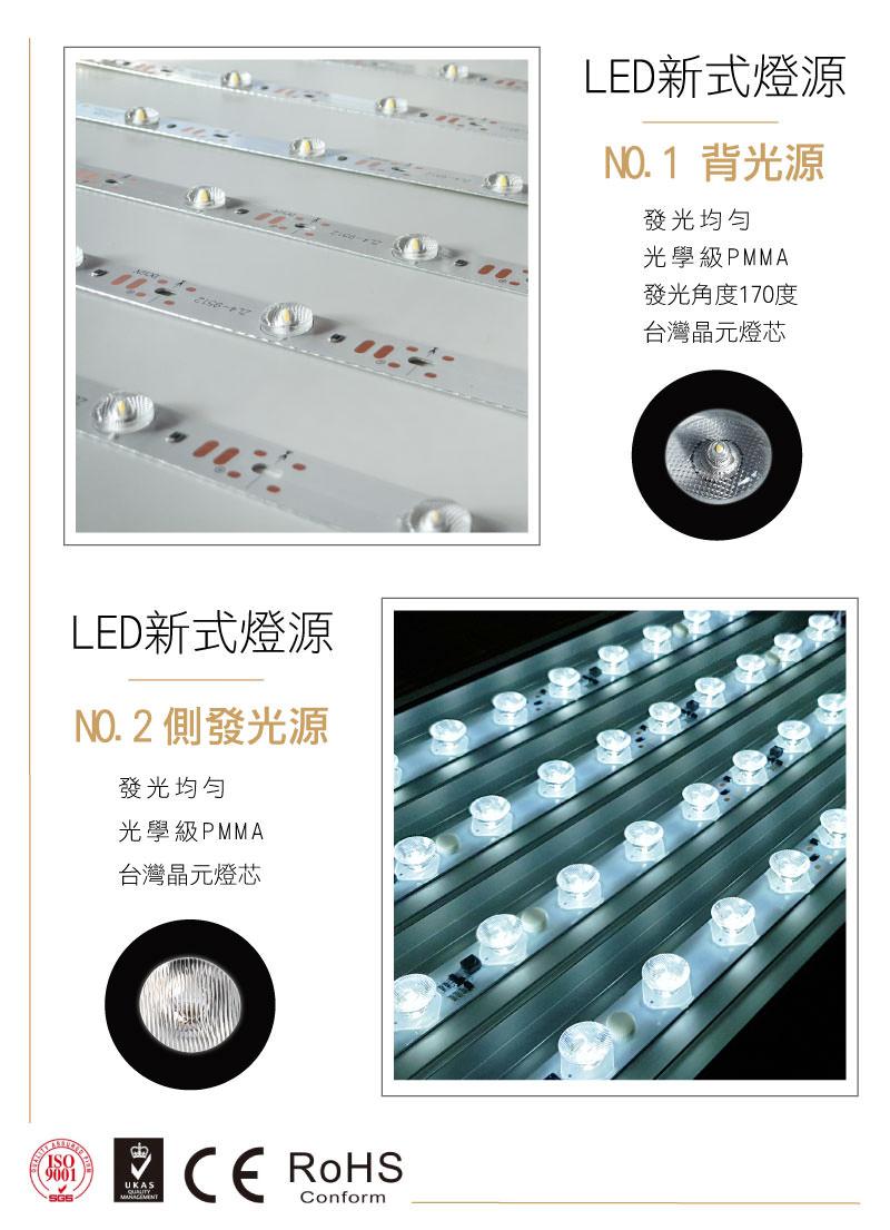 LED展覽布燈箱-卡布燈箱-LED燈源-背打光-側發光