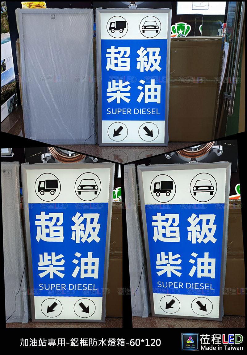 薄型防水燈箱-加油站用燈箱-LED燈箱