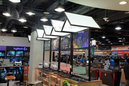 3C賣場專用薄型燈箱-導光板-雷射打點