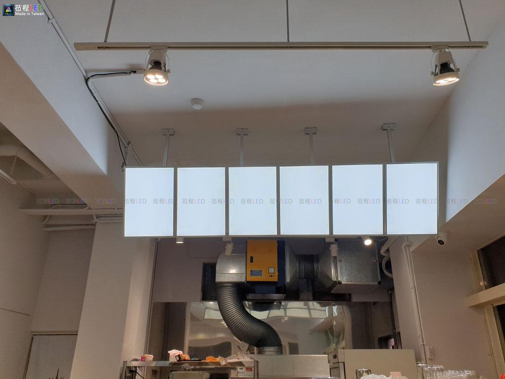懸吊式連板燈箱-導光板燈箱-LED燈箱
